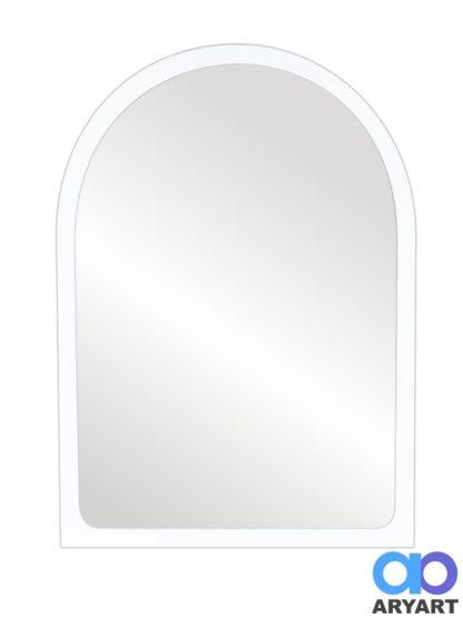 Espejo Medio Punto Blanco