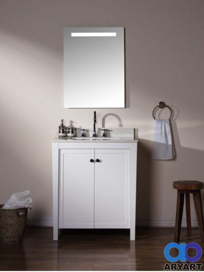 Baño ilustrativo espejo con luz LED