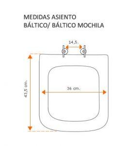 Medidas Báltico y Báltico Mochila