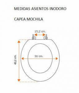 Medidas Capea Mochila