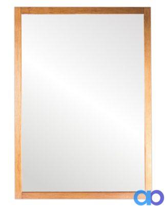 Espejo rectangular madera natural