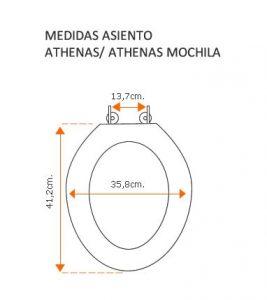 Medidas Athenas y Athenas Mochila